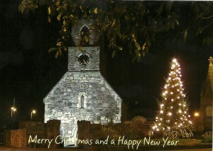 Christmas Tree at the Old Priory Holywood