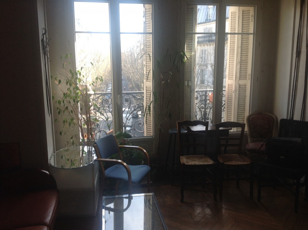 View from room in Paris