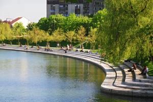 ljubljanica river bank