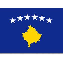 Flagge 90 x 150: Kosovo