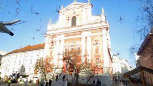Franciscan Church on Prešernov trg