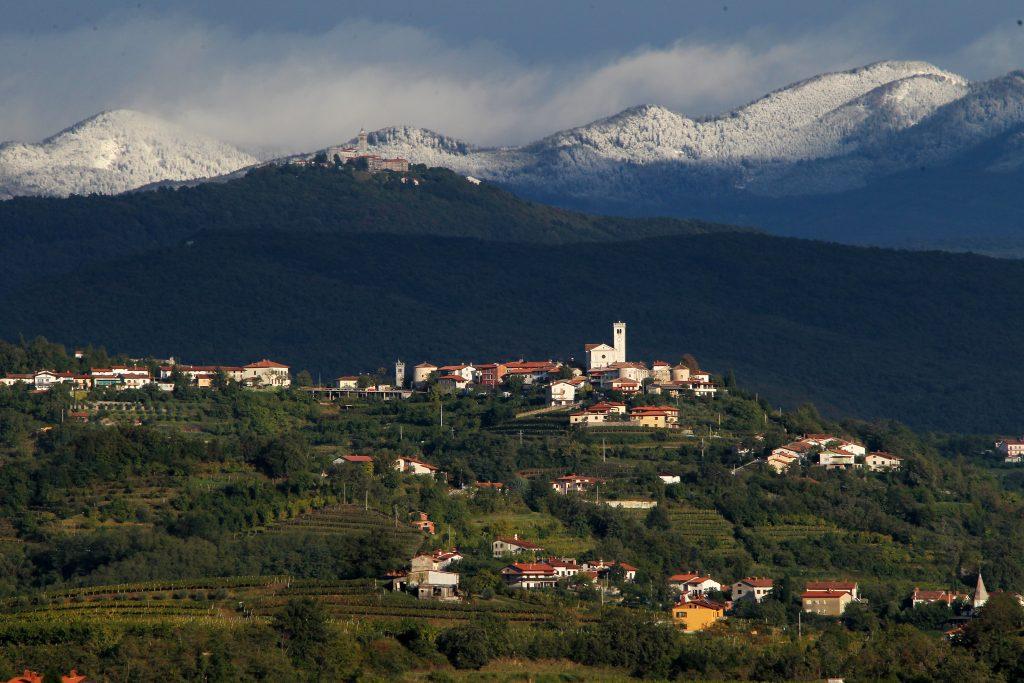 Photo: Goriska Brda by Ales Fevzer with thanks to Slovenia Tourism