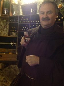 The Wine Master At Bled Castle