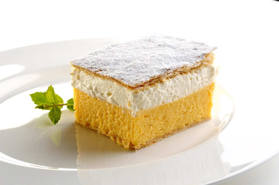 Bled Cream Cake - from Bled.si Bled Tourism