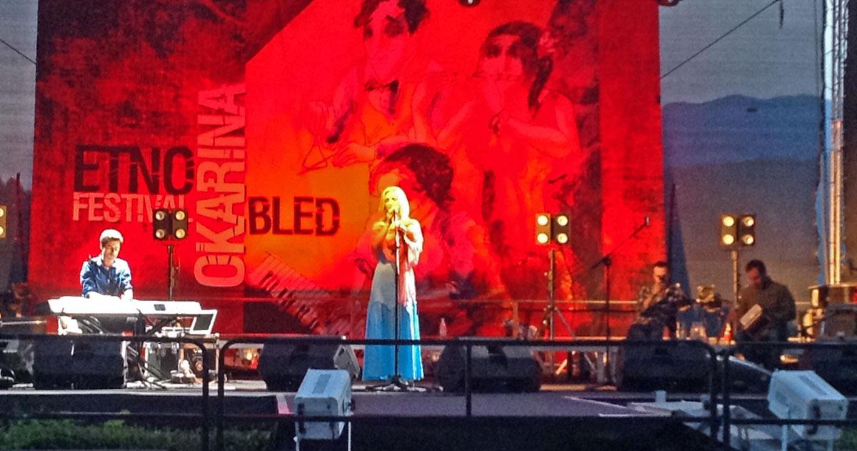 Cara Dillon performing at Bled's Okarina Festival