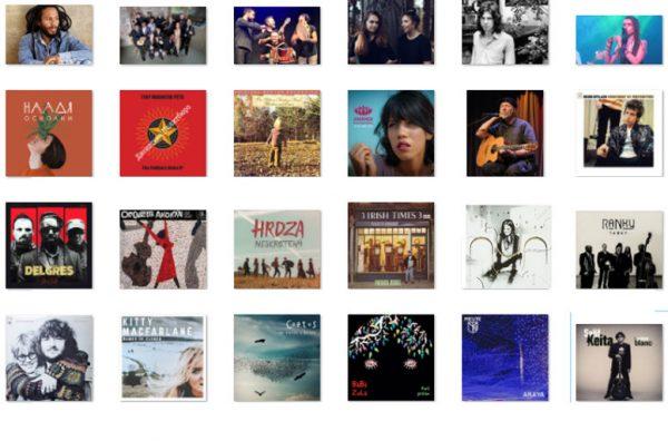 Around the World playlist and on demand audio