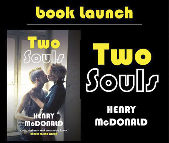 Two Souls Henry McDonald Book Launch