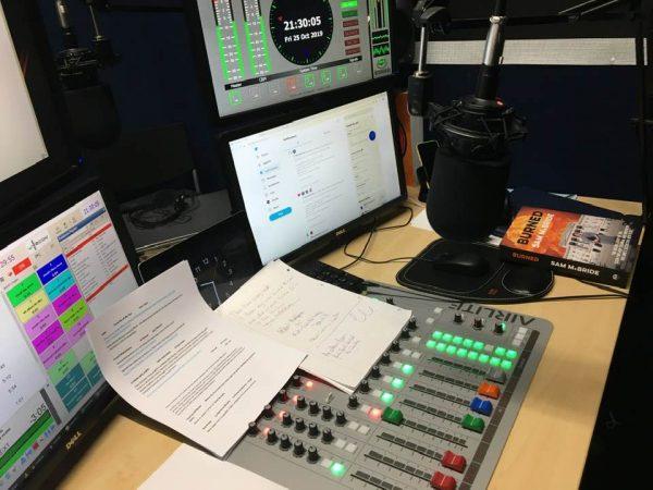 Slice Audio radio desk