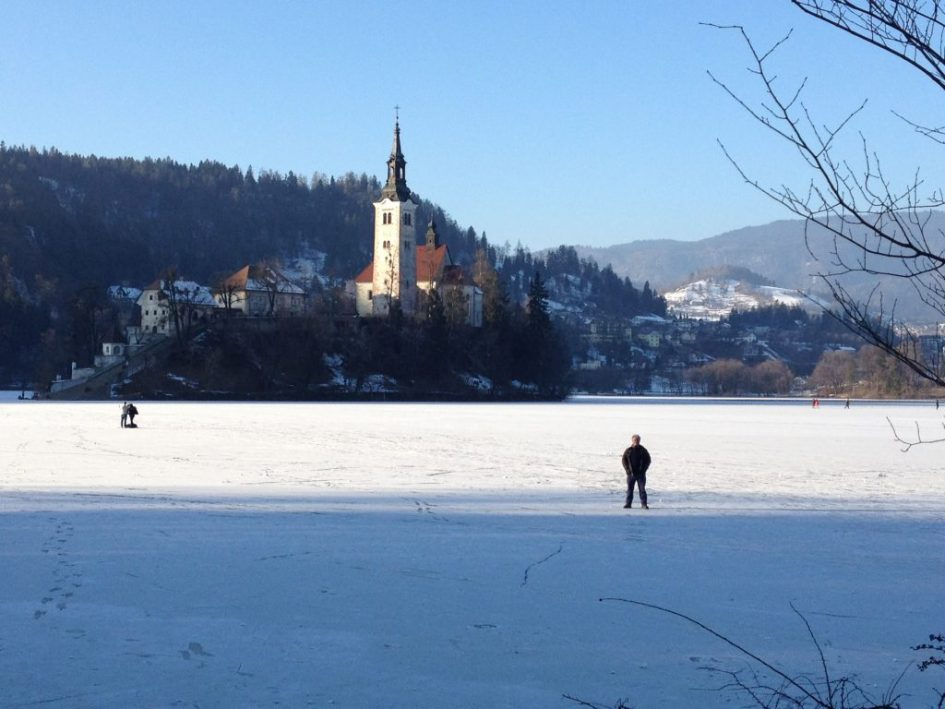 Christmas at Lake Bled